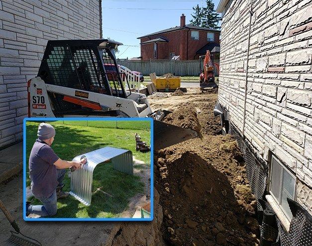 Exterior waterproofing services benefits