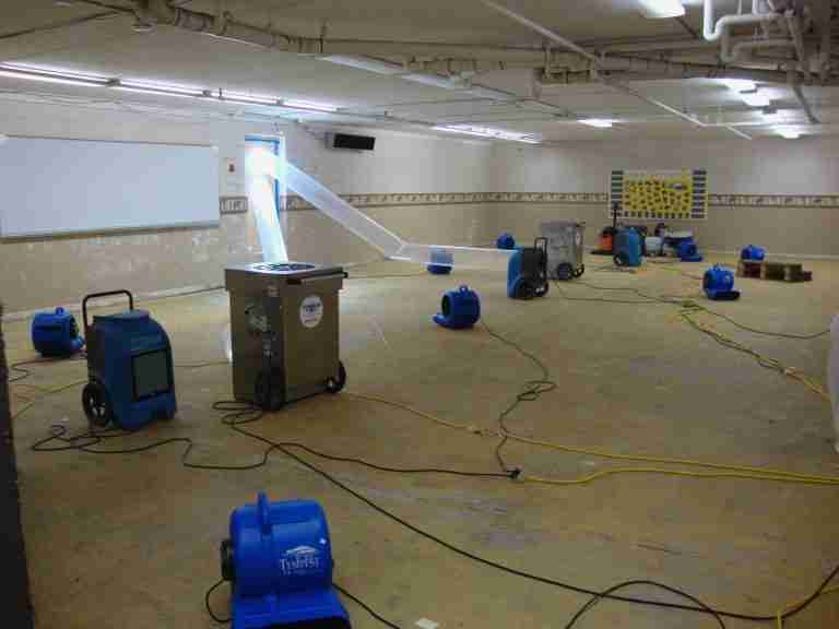 Basement Drying Services